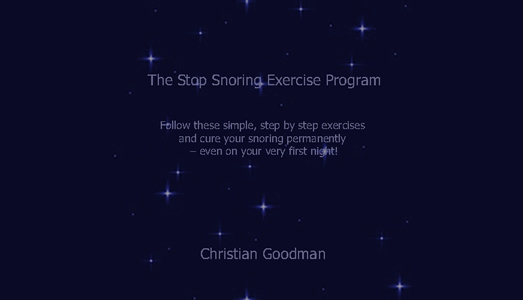 Stop snoring naturally throat exercises