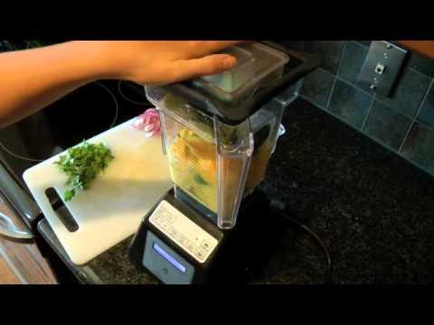 Making Raw Mango Soup