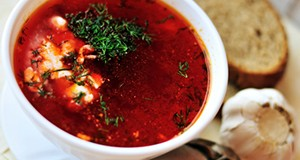 Borscht Beats High Blood Pressure (delicious, cheap meal)